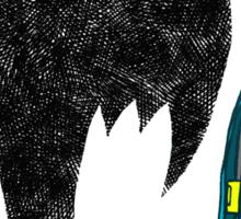 Sad Batman is sad. Sticker