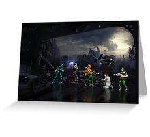 Terminator pixel art Greeting Card