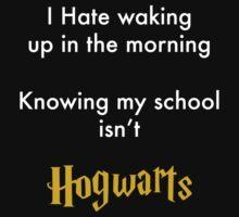 I Hate waking up by LittleRedTrike