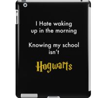 I Hate waking up iPad Case/Skin