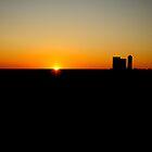 Midwest Sunset by Ben Yamamoto