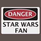 DANGER STAR WARS, FUNNY FAKE SAFETY SIGN by DangerSigns