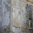 Old wooden shutters by orsinico