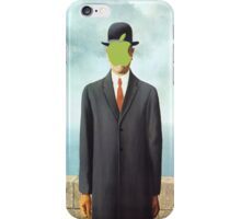 Magritte_apple iPhone Case/Skin