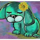Flower Dog - by Beatrice Ajayi by Beatrice  Ajayi