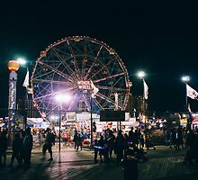 Friday Night at Coney Island by MatMartin