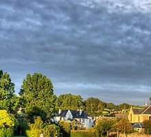 Balloon over Strathaven by Tom Gomez