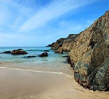 Kynance Cove, Cornwall by Ludwig Wagner