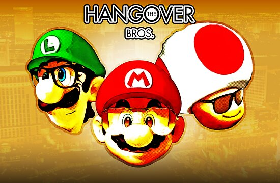 The Hangover Bros. (Print Version) by Rodrigo Marckezini