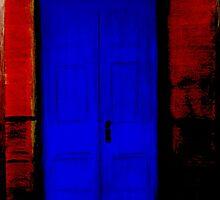 Behind the Blue Door by Andrew Howard