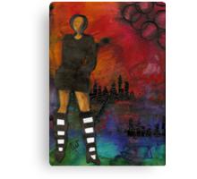 Urban Girl Wanna Be Canvas Print