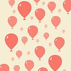 99 Red Balloons pattern by jezkemp