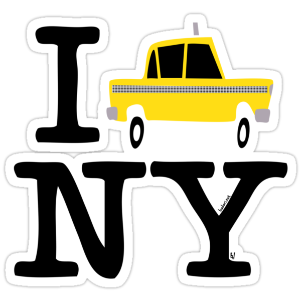 New York Yellow Cab Logo by Marcelo Badari