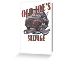 Breaking Bad Inspired - Old Joe's Salvage - Junk Yard - AMC Breaking Bad Greeting Card