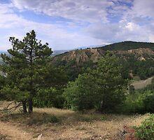 Stob's Pyramids, landscape panorama - Rila Mountains, Southwest Bulgaria by Michael Field