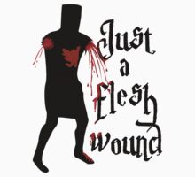 Just a flesh wound by TinaGraphics