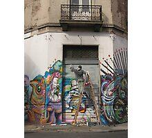 Graffiti in San Telmo  Photographic Print