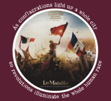Les Miserables movie picture/book quote T-Shirt by 221bCastiel