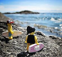 Surf's Up! (1 of 3) by bricksailboat