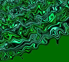 River Of Malachite 3 by Richard Maier