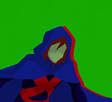 Miss Martian by rawraynex