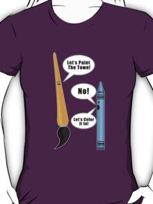 Lets Paint The Town! - Purple T-Shirt