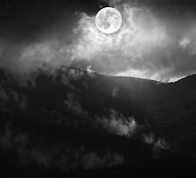 Calender 2014 - Piedmont Moonscape by Steven  Sandner