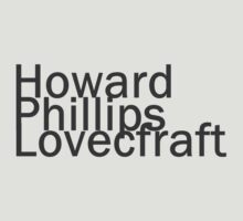 Howard Phillips Lovecraft by Kirdinn