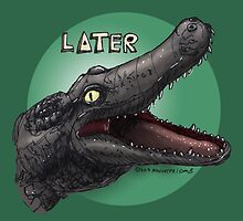 Later Gator by maugryph