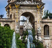 Golden Fountain by Sotiris Filippou