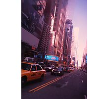 The City Streets (NYC SERIES) Photographic Print
