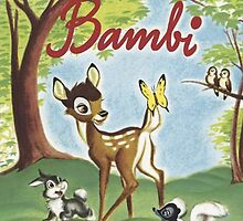 Walt Disneys Bambi by ChloeJade