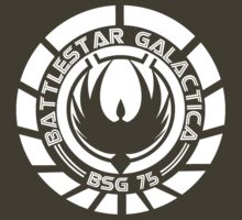 Battlestar Galactica Insignia White by Dexter Lewis