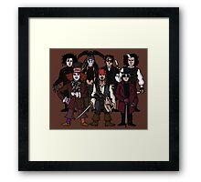 Johnny Depps Framed Print