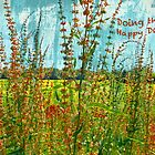 "Doing the Happy Dance ""Greeting Card"" by Susan Werby"