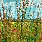 "Sorry For Your Loss ""Greeting Card"" by Susan Werby"