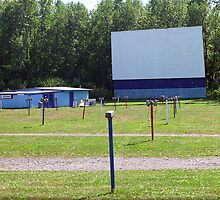 Drive-In Theater by Frank Romeo