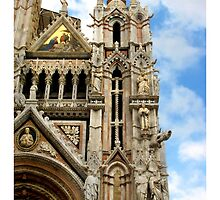 Siena Cathedral, Detail by Reymond Page