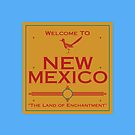 Breaking Bad Welcome to New Mexico by Mark Walker
