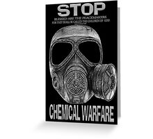 ☝ ☞ STOP CHEMICAL PICTURE/CARD-HEARTFELT DEDICATION TO♥♥ THE CHILDREN♥♥ AND ALL WHOSE LIVES THAT WERE TAKEN♥♥☝ ☞ Greeting Card