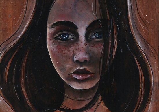 Freckles and Snow by Barbora  Urbankova