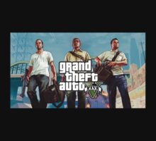 Grand Theft Auto 5 (GTA V) by LPdesigns