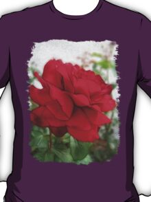 Red Rose Edges T-Shirt