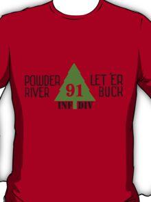 Powder River - Let 'Er Buck T-Shirt