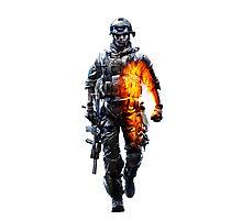 Battlefield 3 Guy Photographic Print