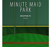Minimalist Minute Maid Park - Houston by pootpoot