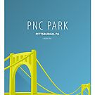 Minimalist PNC Park - Pittsburgh by pootpoot