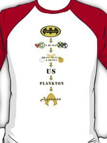 Superhero Pecking Order T-Shirt