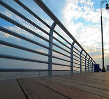Long Beach, NY  Boardwalk                                4551 by KarenDinan