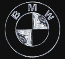 BMW Logo in Silver Chrome by Chromed